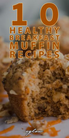 These 10 Healthy Breakfast Muffin Recipes are perfect for busy mornings. Easy and quick to make, they are a tasty treat. Healthy Breakfast For Diabetics, Diabetic Breakfast Recipes, Banana Dessert Recipes, Healthy Breakfast Muffins, Healthy Muffin Recipes, Healthy Breakfast Recipes, Healthy Baking, Diabetic Recipes, Cooking Recipes