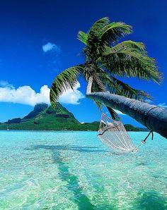 Bora Bora. This looks amazing.