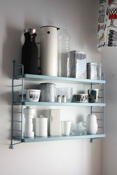 Seasons in Colour | 33 ways to style shelves LIKE A PRO