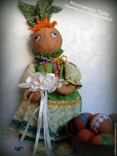 Master Class: bollo de Pascua y podarochnitsa muñeca Grushenka-Darling - Feria Masters - hecho a mano, hecho a mano