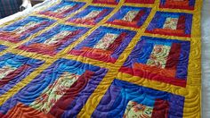 Crafty Sewing & Quilting: Why Are We Making Bright and Colorful Hospice Quil...