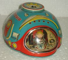 RARE VINTAGE LITHO TIN TOY MADE IN JAPAN WITH TRADE MARK MODERN TOYS #MODERNTOYS