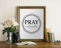 Instant 'Pray continually' 1 Thessalonians by mylovenotedesigns