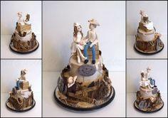 I Do im Western Style . Western Style, Western Wedding Cakes, Desserts, Food, Wedding, Tailgate Desserts, Deserts, Essen, Postres