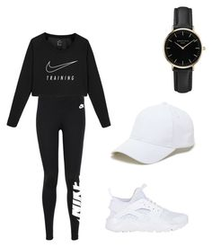"""""""Untitled #3"""" by eliya-harrison on Polyvore featuring NIKE, Sole Society and ROSEFIELD"""