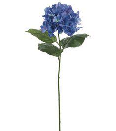 30'' Hydrangea Spray- Blue: floral: crafts: Shop   Joann.com