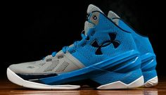 Under Armour Curry Two Steel Electric Blue
