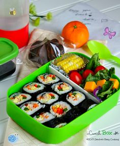 Kimbap lunch box @SECooking | Sandra