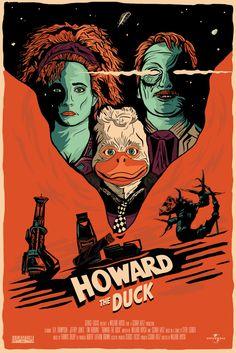 Howard-The-Duck-Print by Harlan Elam