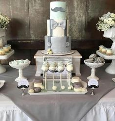 Baby shower cake and treats
