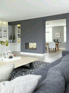 Frisse woonkamer met prachtige kleur: Early Dew van Flexa - Kleuren ...