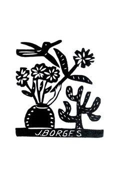 Xilogravura by J. Borges - Sem Nome | Loja Virtual de Objetos de Decoração