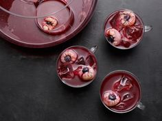 Get Berry Eyeball Punch Recipe from Food Network