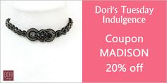 The choker has been seen on necks of models-off-duty, everyday cool women and celebs.  Join the trend setters and shop Dori's couture choker!  #doricsengeri #choker #blackchoker #couturejewelry #fashiontrend