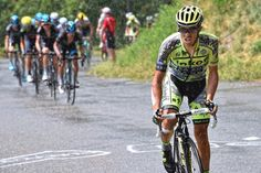Tour de France, stage 19 Alberto Contador (Tinkoff-Saxo) attacked right out of the gate, on the first climb of the day but failed.