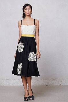 Dandelion Wish Dress #anthropologie #FlowerShop