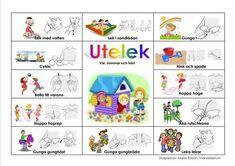 Mariaslekrum Sign Language Book, Learn Swedish, Swedish Language, Reggio Emilia, Montessori, Autism, Kindergarten, Preschool, Classroom