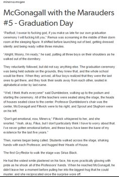 The Marauders and McGonagall part 1 by http://minerva-mcgee.tumblr.com/