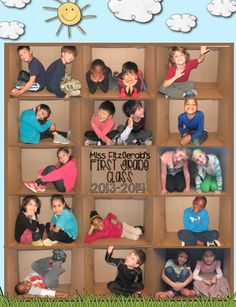 Great idea for class photo especially since we are learning fractions 24 students is 1 whole class!