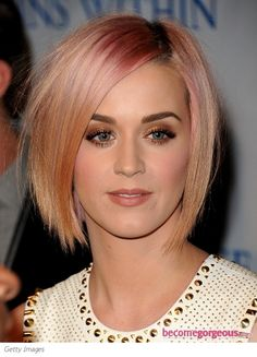 "Katy Perry debuted a brand new look last night at the ""Change Begins Within"" Benefit Celebration. She traded in her long locks for a stylish chin-length bob haircut with razored layers"