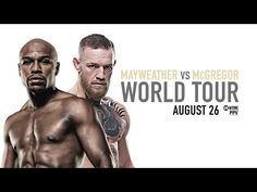 Floyd Mayweather and Conor McGregor will be in the boxing ring on Saturday, August 26th in Las Vegas, Nevada. Before those two square off in possibly the biggest and richest combat sports event of all-time, they're going to embark on a four-day, multi-city world tour, with press conferences in Los Angeles, Toronto, New York City, and London.