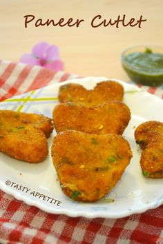 PANEER CUTLET / CRISPY PANEER CUTLETS / EASY STARTER RECIPES / STEP BY STEP | Tasty Appetite