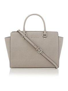 Selma grey large tote bag