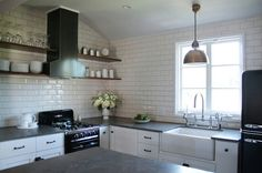Small kitchen, big space.