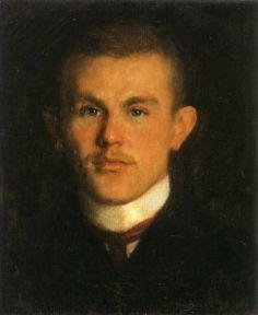 Richard Gerstl, Bildnis Waldemar Unger, 1902-1903, oil on canvas, 41.1 x 34 cm