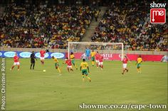 Bafana Bafana against Norway at the Cape Town Stadium Cape Town, Football Team, Norway, South Africa, Soccer, Public, African, Reading, Business