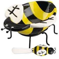 Ridiculous Bumble Bee Kitchen Decor Utensils