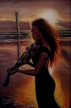 La femme au violon