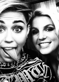 Britney and Miley-Pop Princesses