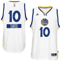 687ca0321 2014-15 Christmas Day jersey Golden State Warriors 10 David Lee adidas  White Swingman Home