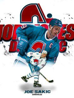 Joe Sakic Hockey Teams, Hockey Players, Ice Hockey, Quebec Nordiques, Frozen Pond, Anaheim Ducks, Colorado Avalanche, National Hockey League, Pittsburgh Penguins