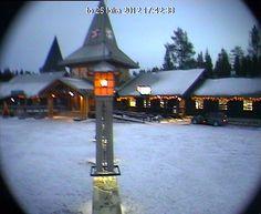 Webcam du Village du Père Noël à Rovaniemi en Laponie en Finlande