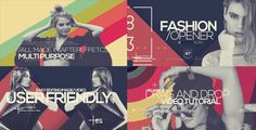 Elegant Fashion  • After Effects Template • See it in action ➝ https://videohive.net/item/elegant-fashion/19213544?ref=pxcr