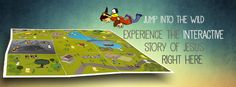 Fantastic home based online activity. The Wild Online takes children on a journey across an interactive map that visits the life, teaching and miracles of Jesus with lots of short animated videos, characters and quizzes.