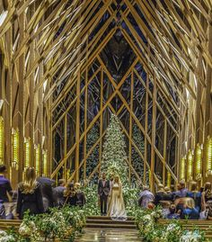 Winter is a beautiful time to hold a ceremony in Anthony Chapel #weddingvenues #weddinghcapel #gardenwedding #wedding Chapel Wedding, Wedding Venues, Woodland Garden, Architectural Features, Garden Wedding, Winter, Weddings, Beautiful, Wedding Reception Venues