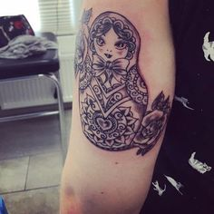 Fresh  #matryoshka #matryoshkatattoo #matryoshkadoll #tattoo #tattoed