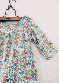 Girls Handmade Liberty of London Floral Dress | PollenLove on Etsy