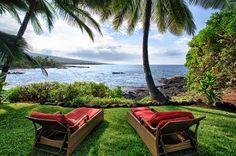 The Best Seats in The House  Ali'i Drive, Kailua~Kona, Hawaii