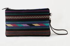 Free pattern created on our looms inspired by traditional Greek costume. The geometric motifs are enriched with earthy colors giving harmony and style. Handmade Clutch, Clutch Bags, Earthy, Loom, Hand Weaving, Free Pattern, Greek, Costume, Traditional
