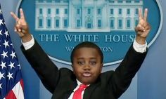 """KID PRESIDENT - """"PEACE OUT!"""""""