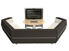 Integrating technology and office furniture into one seamless package, the media:scape Lounge easily brings distributed teams together. System Furniture, Modular Furniture, Lounge Furniture, Office Furniture, Office Lounge, Office Seating, Lounge Seating, Space Dividers, Modern Lounge