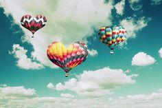 Balões de amor!