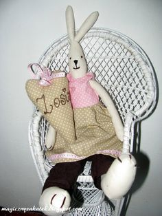 Rabbit in the chair...