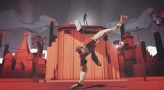Don't miss this beautiful animation made by Sehsucht for the Director's Cut version of Red Bull BC One promo movie.