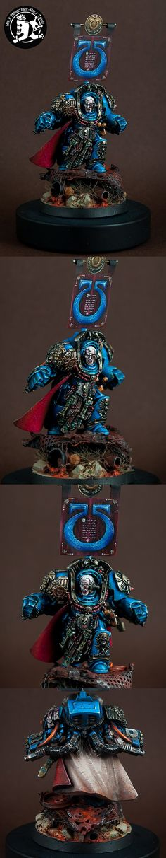 40k - Marneus Calgar, Chapter Master of the Ultramarines by Monstroys