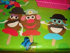 Toy Story Birthday Party Make Your own Mr or Mrs Potato Head Craft Toy Story Theme, New Toy Story, Festa Toy Story, Toy Story Party, Toy Story Birthday, Birthday Party Games, Birthday Ideas, Puppy Birthday, Birthday Fun
